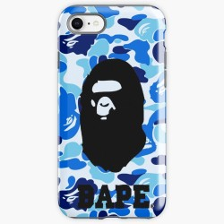 Bape Blue Iphone Case Cover
