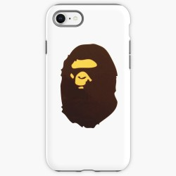 Bape Bathing Ape White iPhone Case Cover