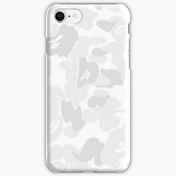 Bape Camo White Iphone Case Cover