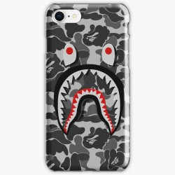Bape Shark Black Army Iphone Case Cover