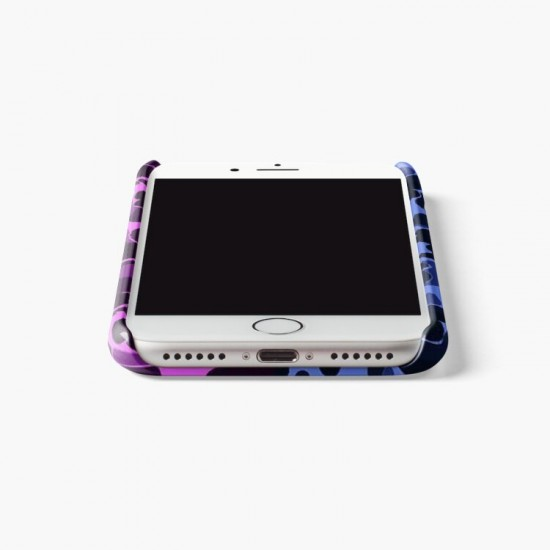 Bathing Ape Blue Purple Camo Design Phone Case Iphone Case Cover