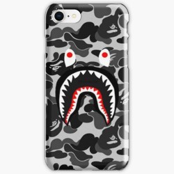 Black Camo Bape Army Iphone Case Cover