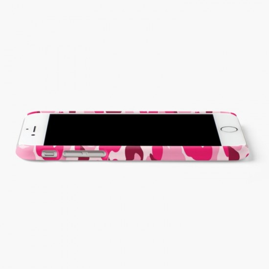 Pink Camo Iphone Case Cover