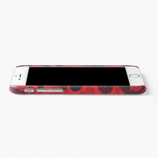 Red Bape Shark Iphone Case Cover