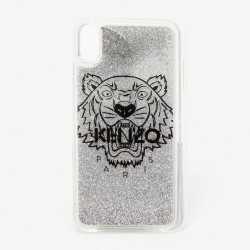 Kenzo Sequins Tiger Kenzo Paris Silver Iphone Xs Max Case
