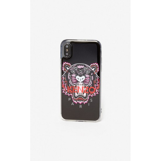 Kenzo Black Pink Red Tiger Paris Iphone Xs Max Case