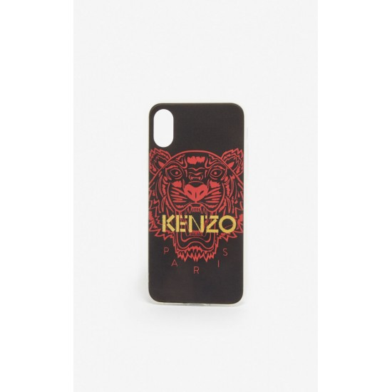 Kenzo Black Red Tiger Iphone X Xs Case