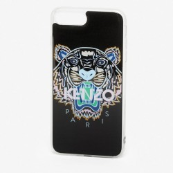 Kenzo Black White Blue Tiger Paris Iphone 8 Se Case