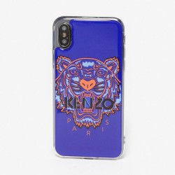 Kenzo Deep Sea Blue Tiger Paris Iphone Xs Max Case
