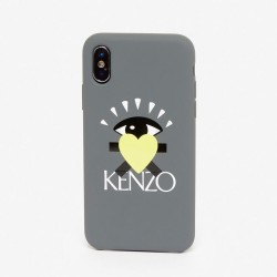 Kenzo Love Kenzo Paris Anthracite Iphone Xs Max Case