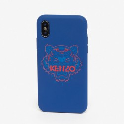 Kenzo Navy Blue Tiger Paris Logo Iphone X Xs Case