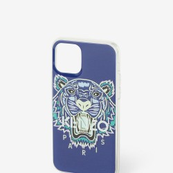 Kenzo Slate Blue Tiger Paris Iphone Xi Pro Case
