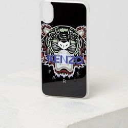 Kenzo Tiger Kenzo Paris Black Iphone X Xs Case