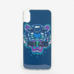 Kenzo Tiger Kenzo Paris Deep Sea Blue Iphone X Xs Case
