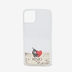 Kenzo Transparent Tiger Love Iphone Xi Pro Max Case
