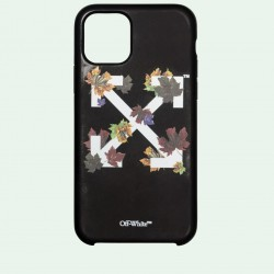 Off White Black White Leaves Iphone 11 Pro Case