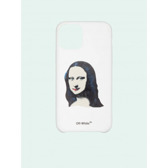 Off White White Black Monalisa Iphone 11 Pro Case
